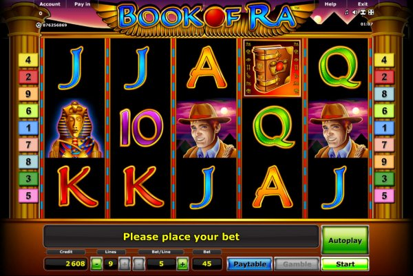 video slot book of ra